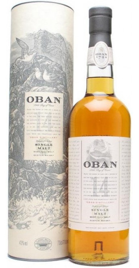"Виски ""Oban"" malt 14 years old, with box, 0.7 л"
