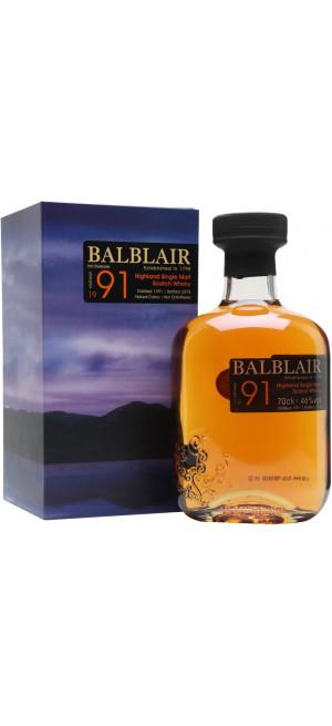 """Виски """"Balblair"""", 1991, gift box, 0.7 л"""