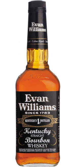 "Виски ""Evan Williams"" Extra Aged Black, 0.75 л"
