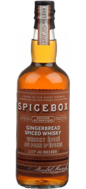 "Виски ""Spicebox"" Gingerbread, 0.75 л"