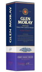Виски Glen Moray Single Malt Elgin Classic Port Cask Finish, gift box, 0.75 л