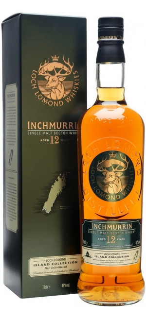 "Виски ""Inchmurrin"" 12 Years Old, gift box, 0.7 л"