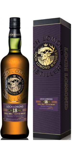 "Виски ""Loch Lomond"" 18 Years Old, gift box, 0.7 л"