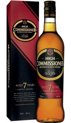 """Виски """"High Commissioner"""" 7 Years Old, gift box, 0.7 л"""