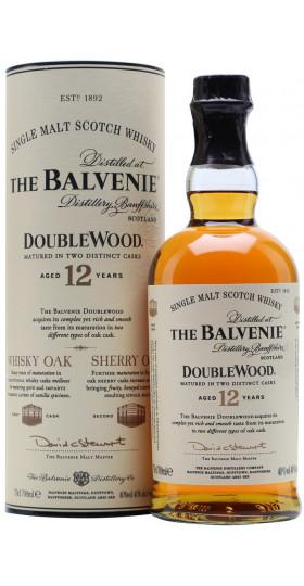 "Виски ""Balvenie"" Doublewood 12 Years Old, gift tube, 0.7 л"