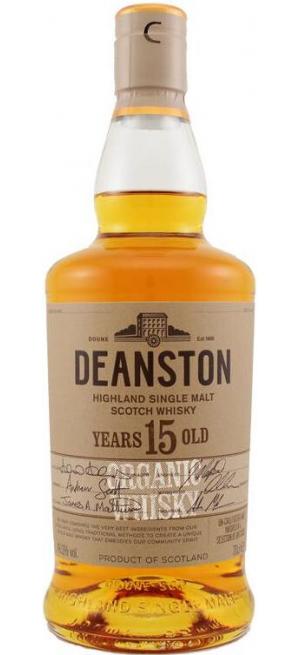 "Виски ""Deanston"" 15 Years Old Organic, 0.7 л"