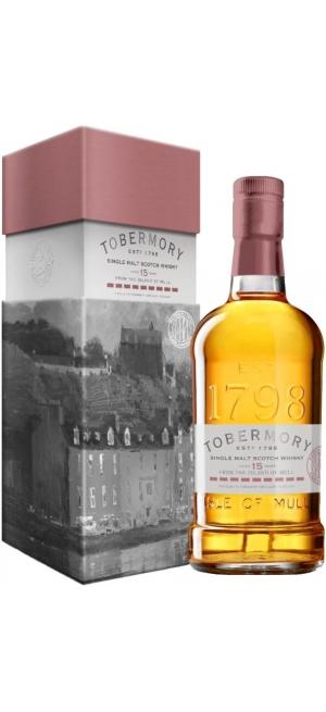 """Виски """"Tobermory"""" 15 Years Old Marsala Finish, gift box, 0.7 л"""