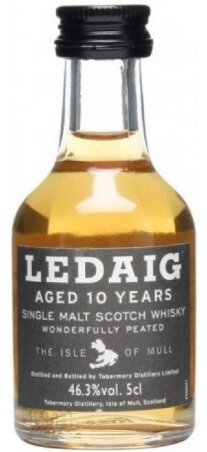 """Виски """"Ledaig"""" Aged 10 Years (46.3%), 50 мл"""