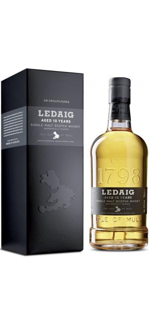 """Виски """"Ledaig"""" Aged 10 Years, gift box, 0.7 л"""