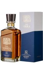 Виски The Nikka 12 Years Old, gift box, 0.7 л