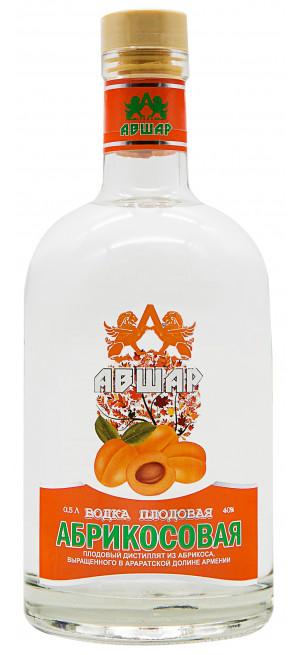 Водка Авшар Абрикосовая Плодовая, 0.5 л