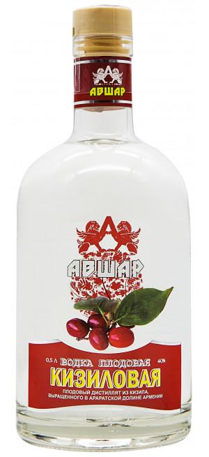 Водка Авшар Кизиловая Плодовая, 0.5 л