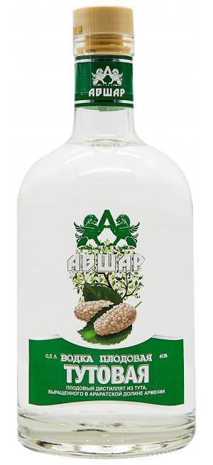 Водка Авшар Тутовая Плодовая, 0.5 л