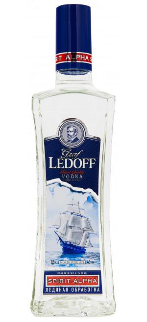 Водка Граф Ледофф Лайт, 0.5 л
