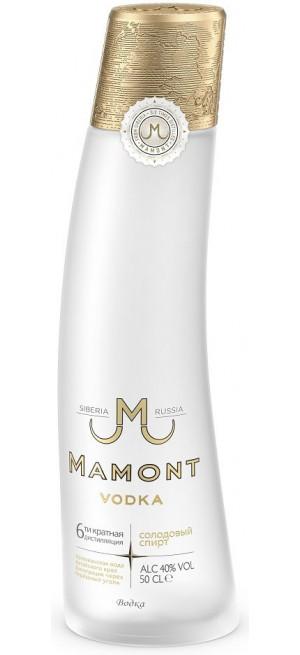 Водка Мамонт, 0.5 л...