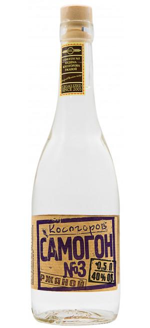 Водка Косогоров Самогон №3 Ржаной, 0.5 л