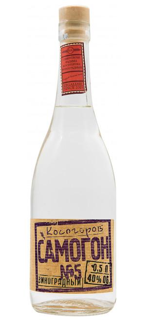 Водка Косогоров Самогон №5 Виноградный, 0.5 л