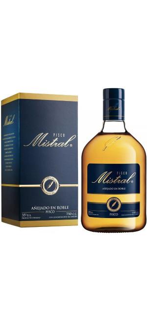"Водка Pisco ""Mistral"" Especial, gift box, 0.75 л"