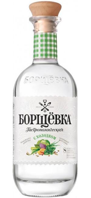 """Водка """"Борщевка"""" с Холодком, 0.5 л"""