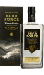 "Водка ""Bear Force"" Powerful, gift box, 0.5 л"