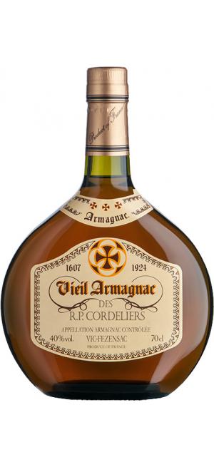 """Арманьяк Gelas, """"Vieil Armagnac des R.P. Cordeliers"""", 0.7 л"""