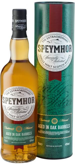"Виски ""Speymhor"" Single Malt, in tube, 0.7 л"
