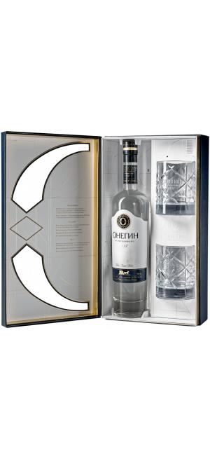 """""""Онегин"""", подарочный набор с двумя стаканами"""