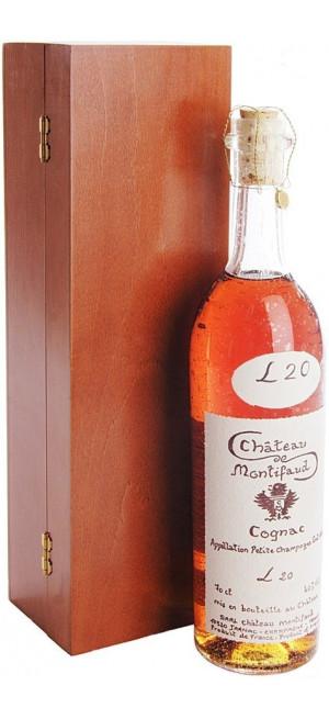 Коньяк Chateau de Montifaud 20 Years Old, Fine Petite Champagne AOC, wooden box, 0.7 л