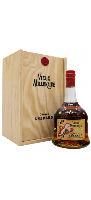 Коньяк Lheraud Cognac Vieux Millenaire, wooden box, 0.7 л