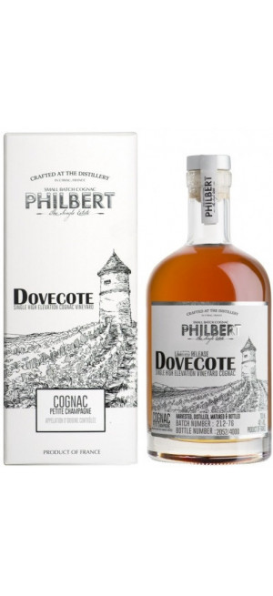 "Коньяк Cognac Philbert, ""Dovecote"" Single Vineyard, Petite Champagne AOC, gift box, 0.7 л"
