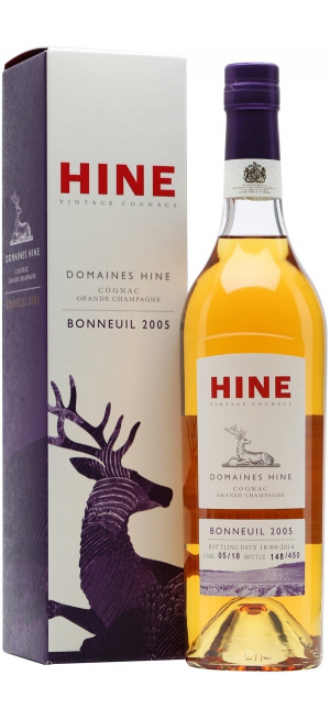 "Коньяк Hine, ""Domaines Hine"" Bonneuil, Grande Champagne AOC, 2005, gift box, 0.7 л"