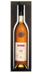 """Коньяк Hine, Vintage """"Early Landed"""", 1987, in wooden box, 0.7 л"""