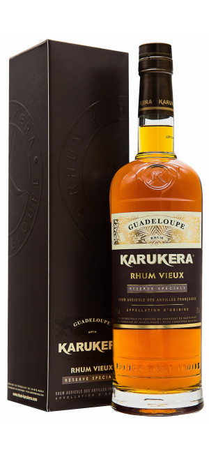 Ром Karukera Rhum Reserve Speciale, gift box, 0.7 л