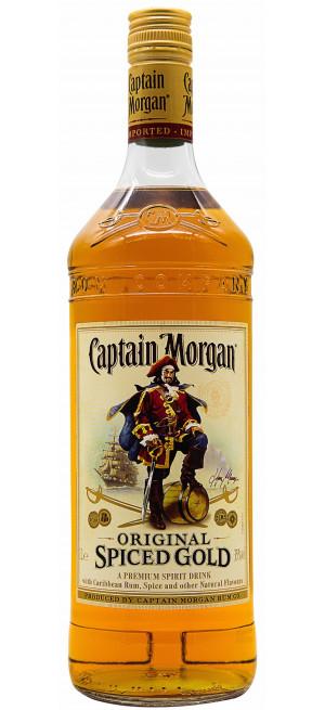 "Ром ""Captain Morgan"" Spiced Gold, 1 л"