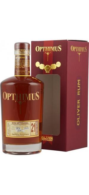 """Ром """"Opthimus"""" 21 Anos, gift box, 0.7 л"""