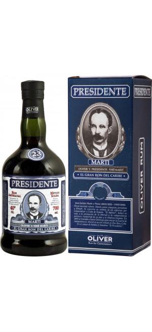 "Ром ""Presidente"" 23 Anos, gift box, 0.7 л"