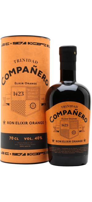"""Ром """"Companero"""", Elixir Orange, gift box, 0.7 л"""