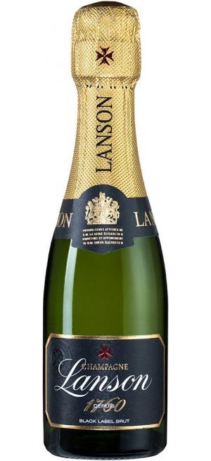 "Шампанское Lanson, ""Black Label"" Brut, 200 мл"
