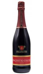 Игристое вино Filipetti Brachetto d'Acqui