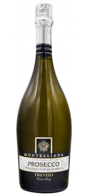 Игристое вино Montelliana, Prosecco Treviso DOCG Extra Dry