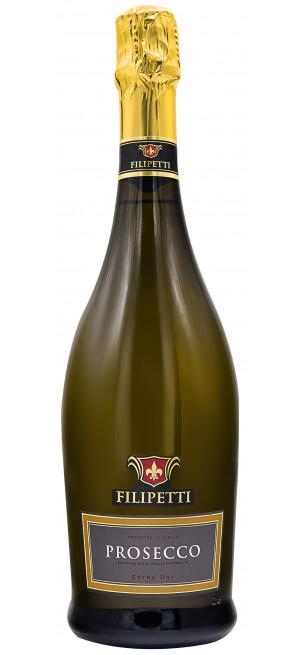 "Игристое вино ""Filipetti"" Prosecco DOC Extra Dry"