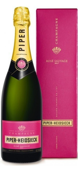 "Шампанское Piper-Heidsieck, ""Rose Sauvage"", Champagne AOC, with box, 0.75 л"