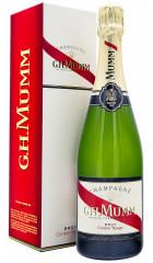 """Шампанское Mumm, """"Cordon Rouge"""" AOC, gift box"""