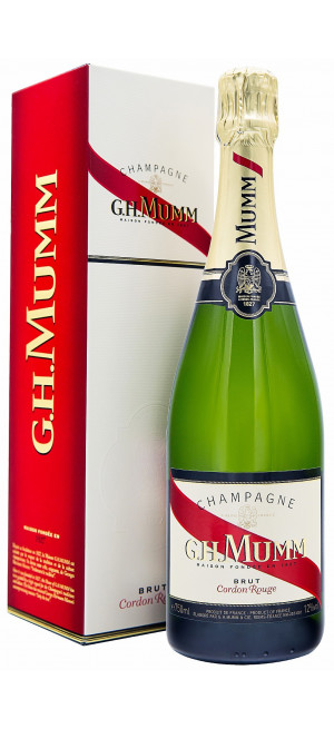 "Шампанское Mumm, ""Cordon Rouge"" AOC, gift box"