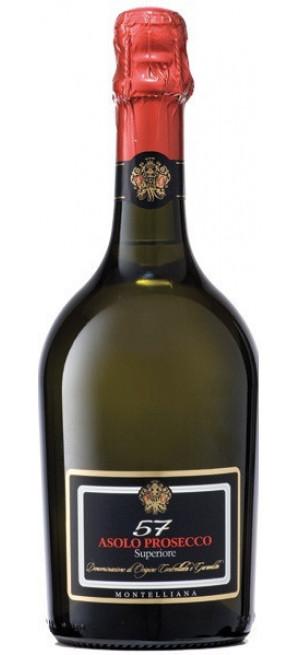 "Игристое вино Montelliana, ""57"" Asolo Prosecco Superiore DOCG, 0.75 л"
