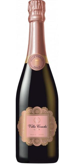 Шампанское Villa Conchi, Cava Brut Rose, 0.75 л