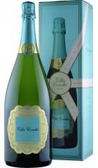 Игристое вино Villa Conchi, Cava Brut Seleccion, gift box, 1.5 л