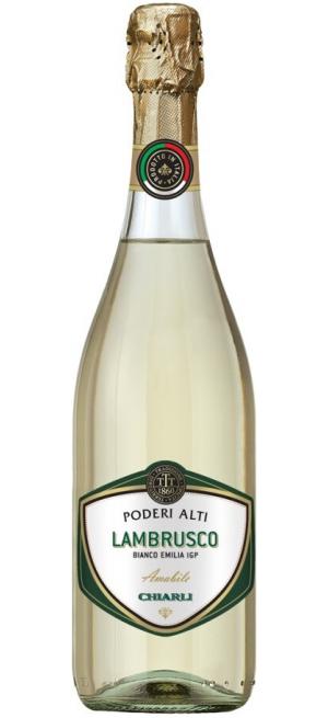 Игристое вино Lambrusco Dell'Emilia Poderi Alti IGT, 0.75 л
