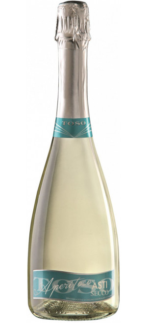 Игристое вино Toso, Asti Secco DOCG, 0.75 л
