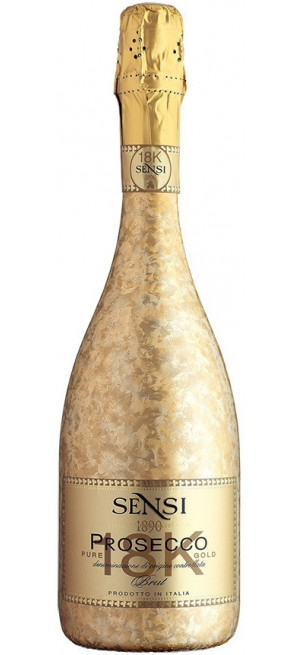 "Игристое вино Sensi, ""18К"" Prosecco Brut DOC, 0.75 л"